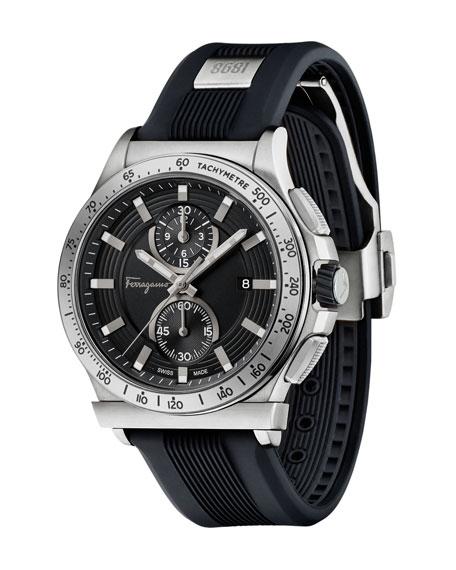 44mm 1898 Two-Tone Watch, Black