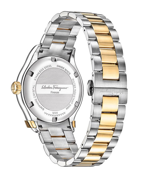 43mm 1898 Two-Tone Bracelet Watch