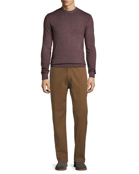 Men's Straight-Leg Stretch-Cotton Workman Trousers