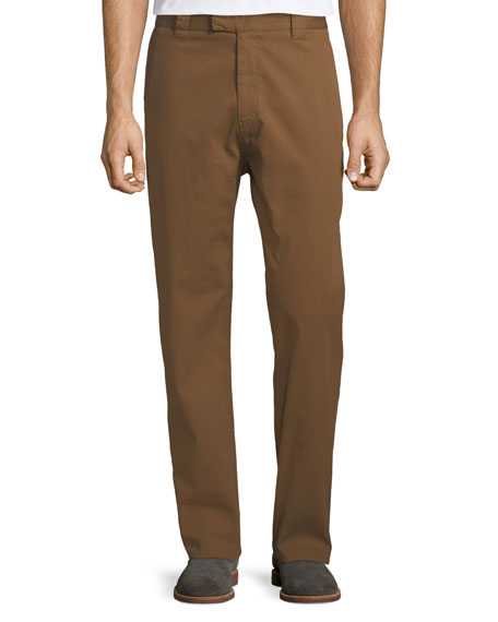 Salvatore Ferragamo Men's Straight-Leg Stretch-Cotton Workman