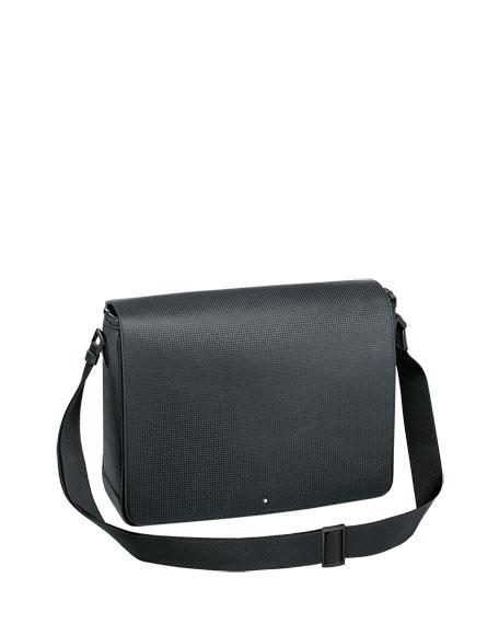 Montblanc Extreme Textured Leather Messenger Bag
