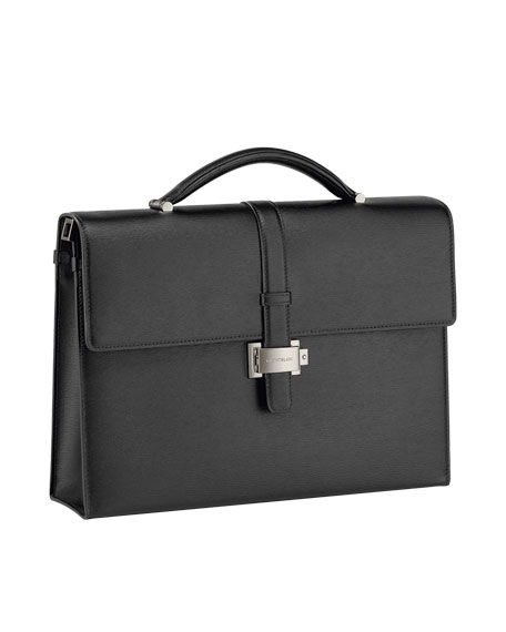 Montblanc Single-Gusset Flap-Top Briefcase