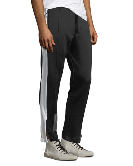 Men's Bicolor Slim Track Pants