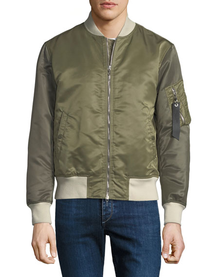 Men's Manston Colorblock Bomber Jacket