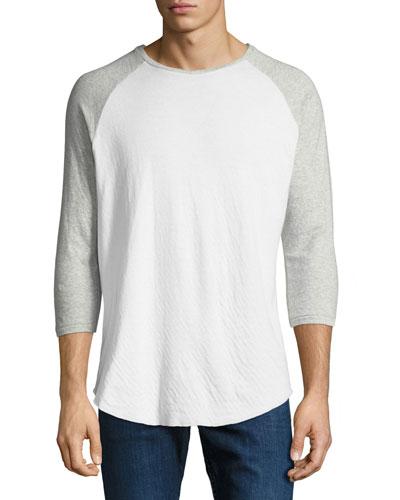 Rigby Two-Tone Baseball T-Shirt