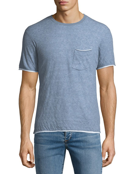 Rag & Bone Men's Tripp Contrast-Trim T-Shirt