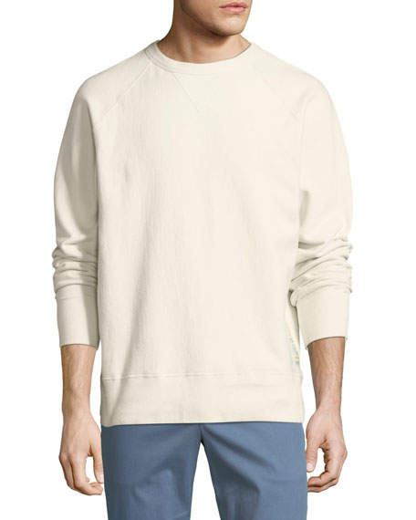 Men's Racer Elbow-Patch Sweatshirt