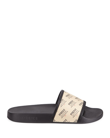 Pursuit Invite-Print Slide Sandal