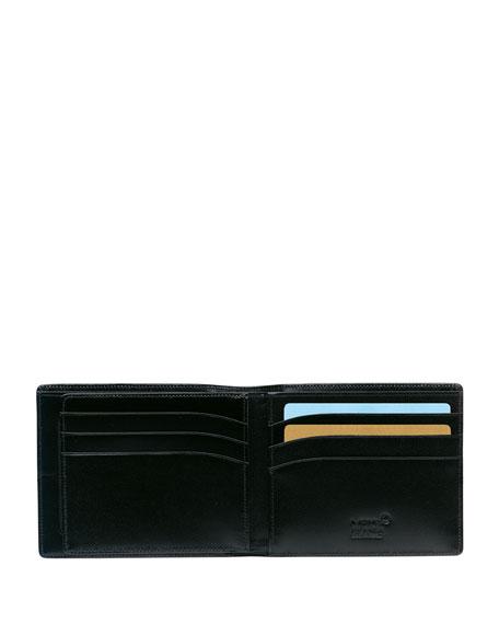 Meisterstuck Leather Bifold Wallet, Black