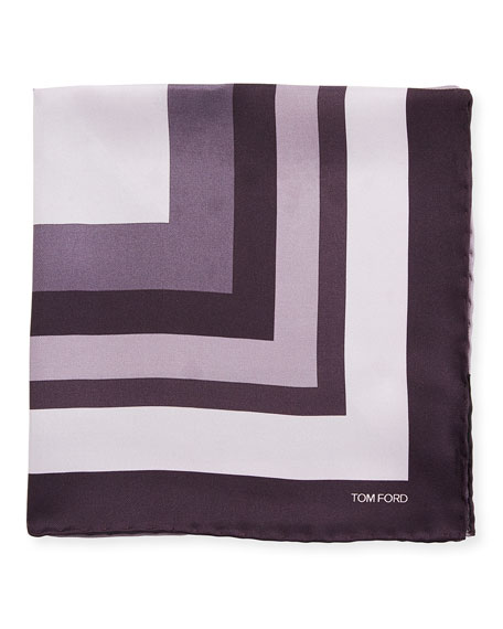 Opposite Box Pocket Square, Dark Purple