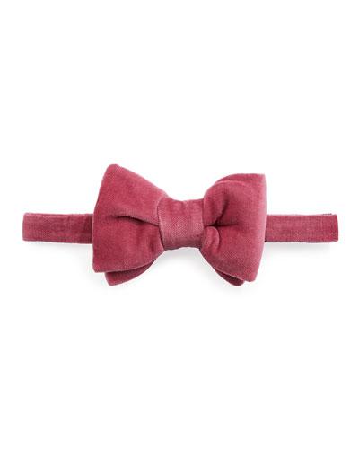 Summer Velvet Bow Tie