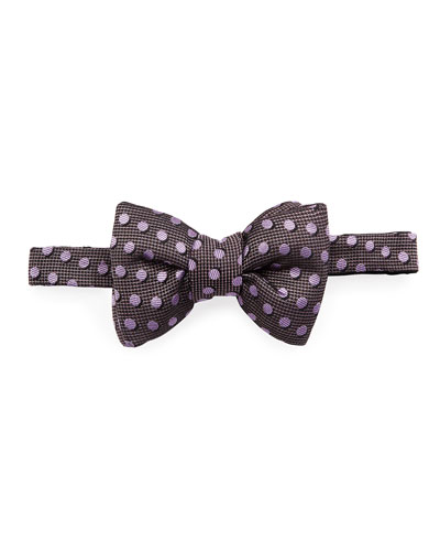 Shadow Dot Bow Tie