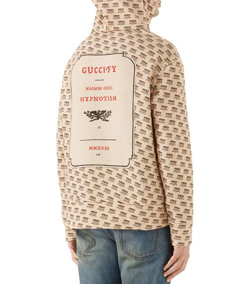 Guccify Logo-Print Hoodie