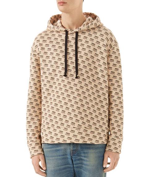 Gucci Guccify Logo-Print Hoodie