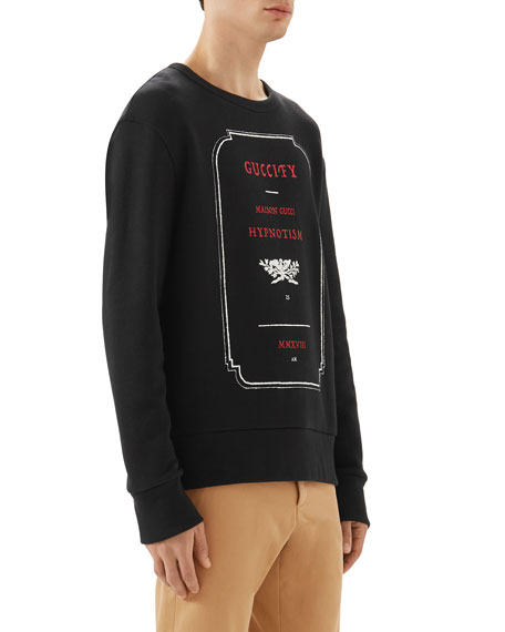 Graphic-Front Sweatshirt