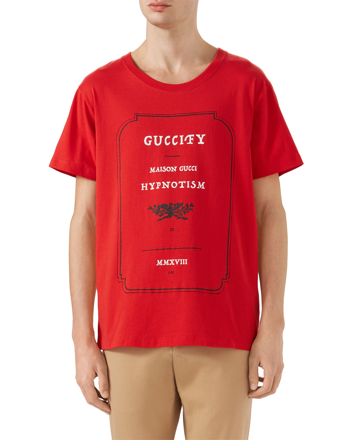 fa85d1f3 Gucci Loved Hypnotism Graphic T-Shirt | Neiman Marcus