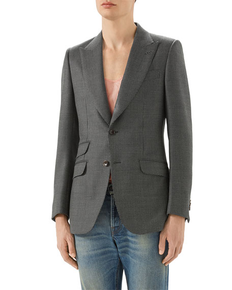 Gucci Formal Mitford Wool Jacket