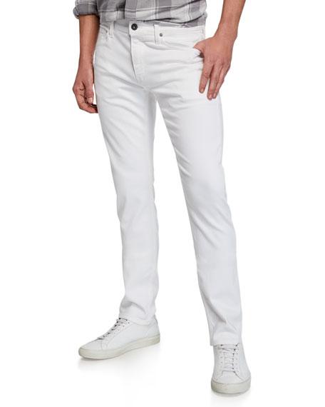 PAIGE Lennox True Skinny Jeans, Ice Cap