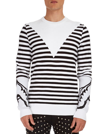 Striped Crewneck Sweater