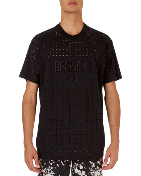 Givenchy Perforated Modern-Fit T-Shirt