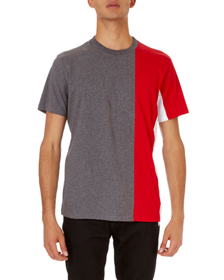 Givenchy Colorblock Cuban-Fit T-Shirt