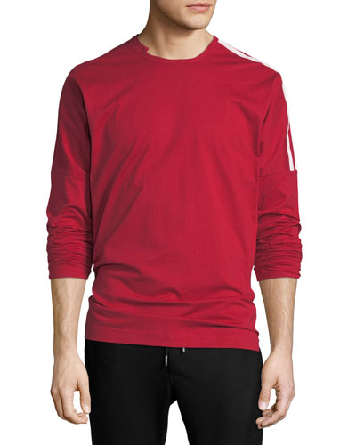 3-Stripes Long-Sleeve T-Shirt