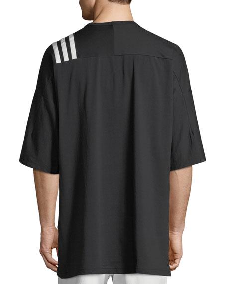 3-Stripes T-Shirt, Black/White