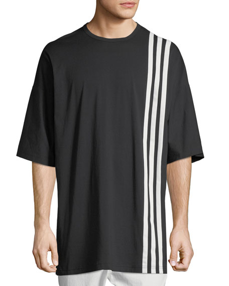 3-Stripes T-Shirt, Black/White