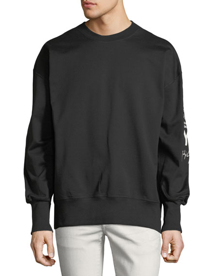 Graphic Logo French Terry Sweatshirt