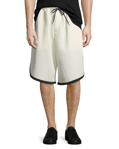 Men's 3-Stripe Mesh Shorts