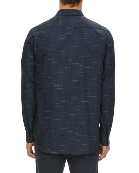 Tait Dash Pattern Cotton Sport Shirt