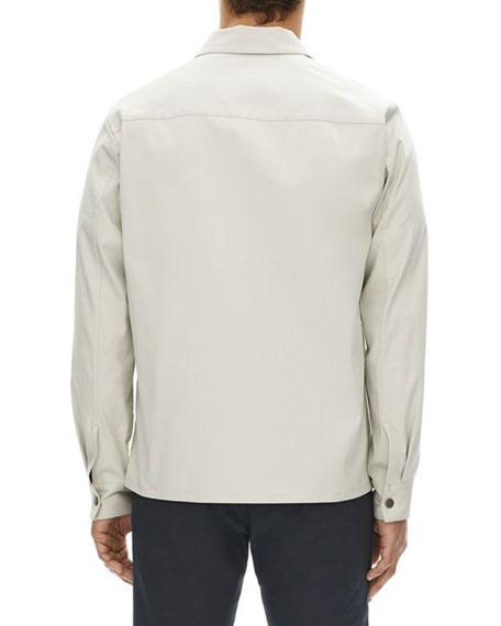 Rye Zip-Front Shirt Jacket