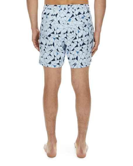 Cosmos Geoline Swim Trunks