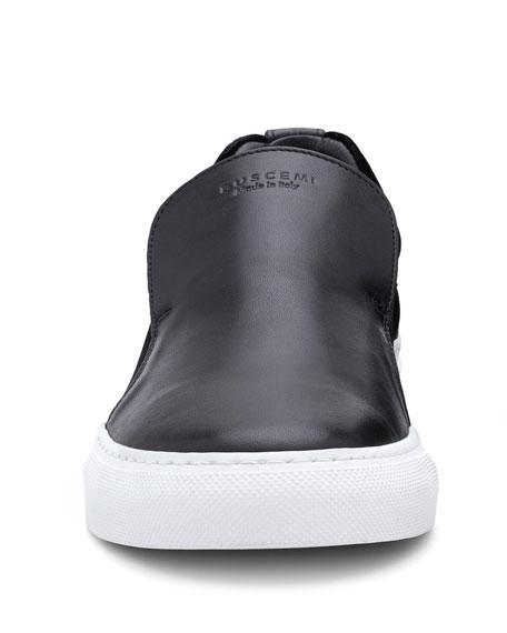 40 mm Quincy Leather & Velvet Slip-On Sneaker