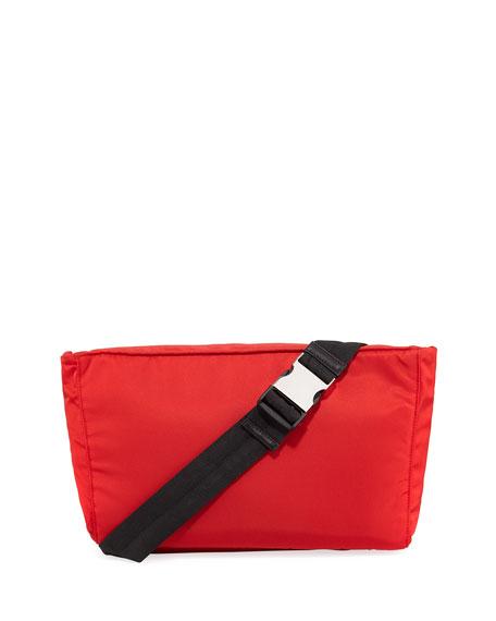 Prada Solid Nylon Belt Bag