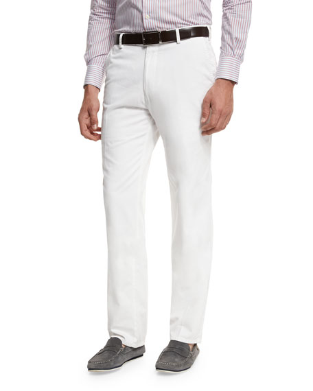 Peter Millar Raleigh Washed-Twill Pants