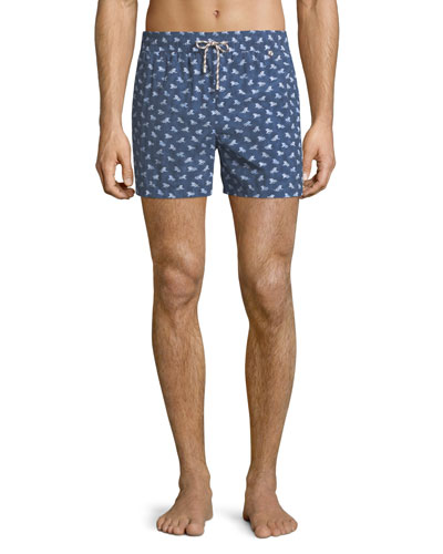 Men's Beach Lounger Swim Shorts