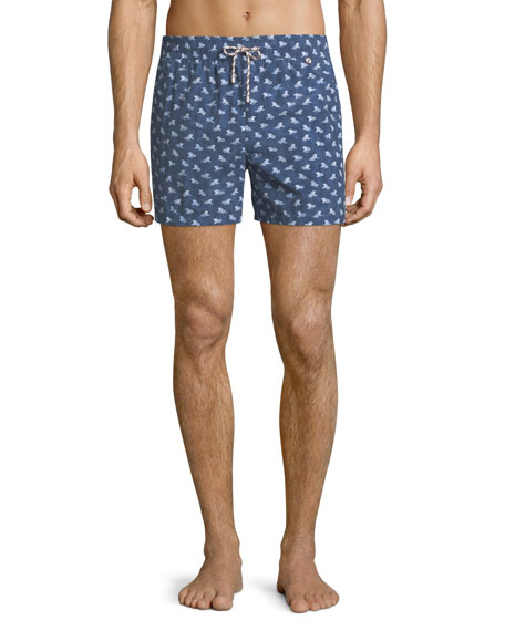 Loro Piana Men's Beach Lounger Swim Shorts