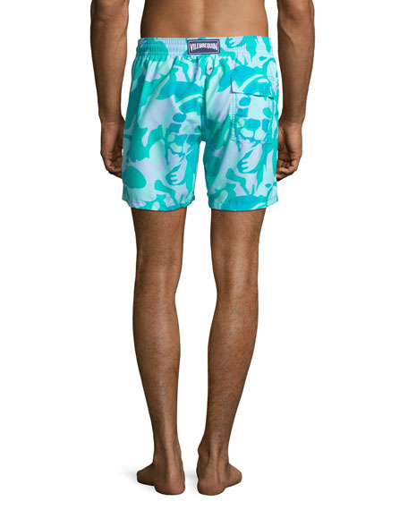 Men's Moorea Camouflage Turtles Swim Trunks