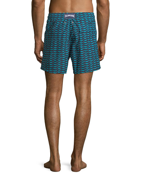 Poisson Shamac Fast-Drying Swim Trunks