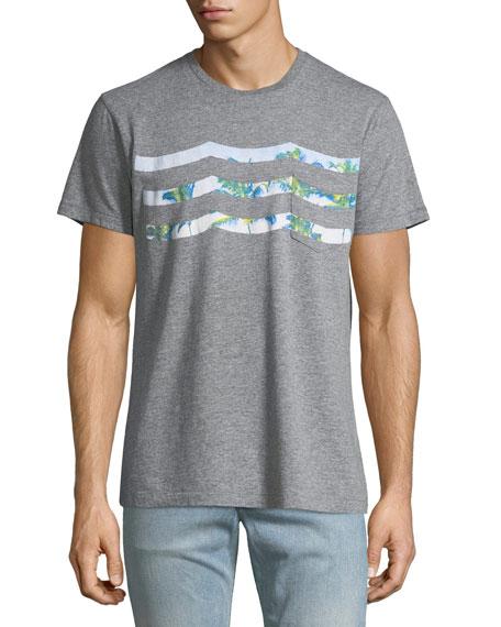 Sol Angeles Palm Haze-Waves T-Shirt