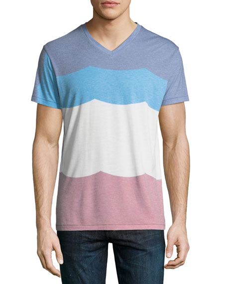 Sol Angeles Flag Striped T-Shirt