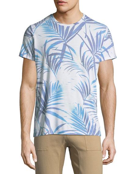 Sol Angeles Las Brisas Palm Leaf-Print T-Shirt