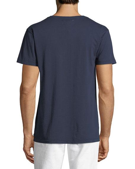 Sail Away Graphic V-Neck T-Shirt