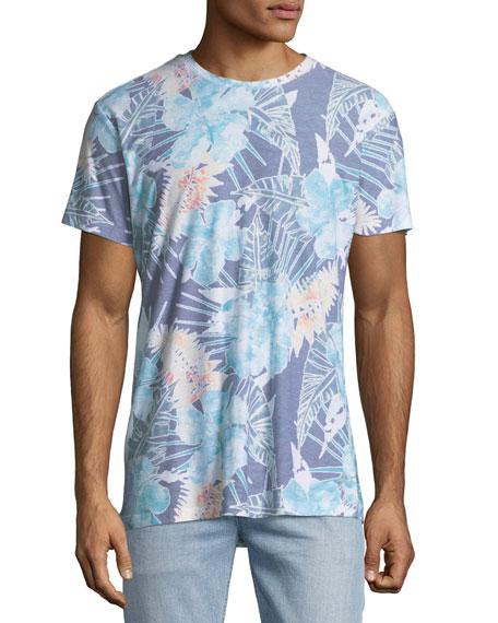 Botanica Verde Floral-Print T-Shirt