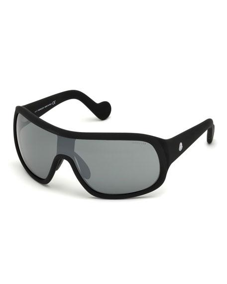 Men's Plastic Shield Sunglasses