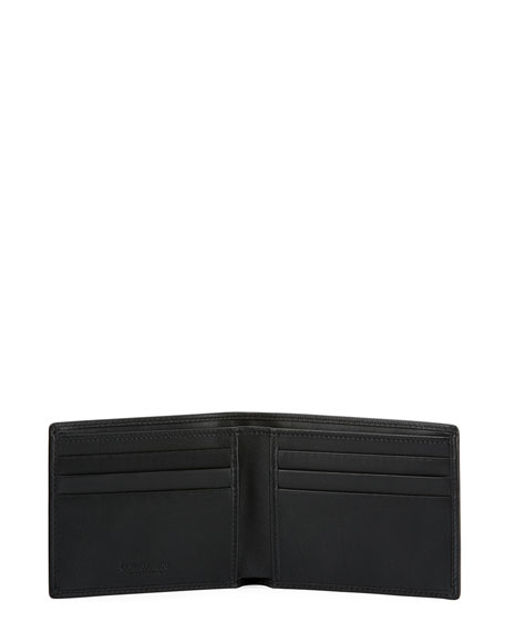 Smooth Calfskin Bi-Fold Wallet
