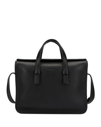 Artisan Smooth Leather Briefcase