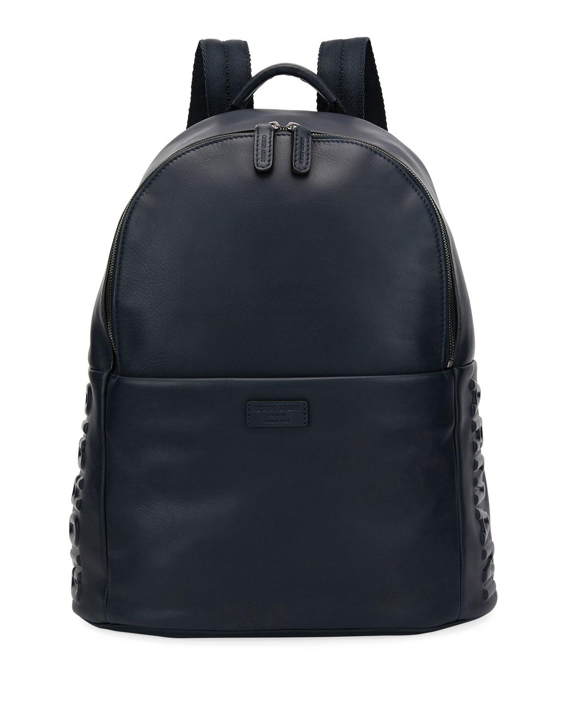 Giorgio Armani Armani Leather Backpack 9be91d13d8f0e