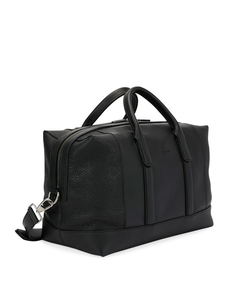 Leather Weekender Bag